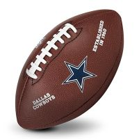 American Football Geschenk: Ball mit Team-Logo