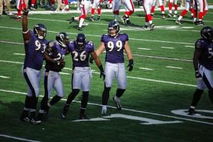 Baltimore Ravens NFL Spiel